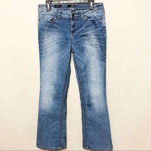 a.n.a Boot Cut Denim Jeans w/ Button Flap Pocket